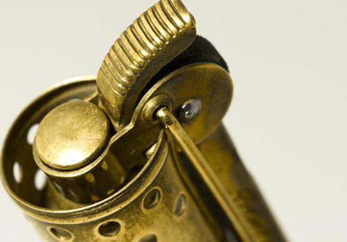 イムコ IMCO 2200 Lighter/Brass オーストリア製 1930年代製 未